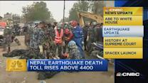 CNBC update: Nepal earthquake death toll rises