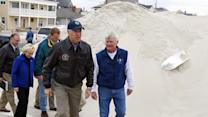 Raw: Biden tours storm-damage in New Jersey