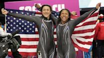 Lauryn Williams takes silver in bobsled, just misses Olympic history