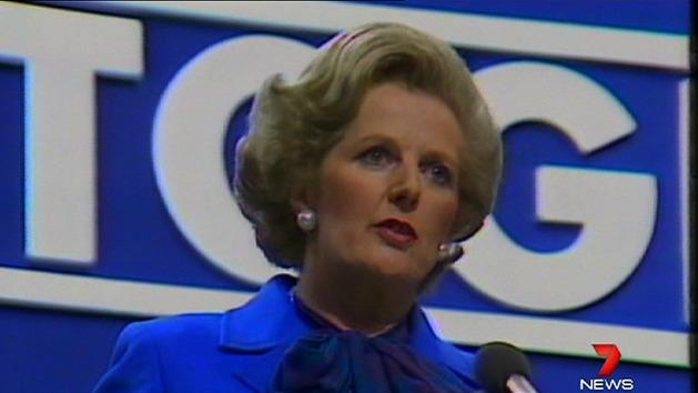 Margaret Thatcher dies after stroke