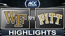Wake Forest vs Pittsburgh | 2014 ACC Basketball Highlights