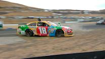 Kyle Busch and Edwards make contact