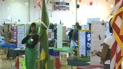 Northwest Middle School Hosts Cultural Fair