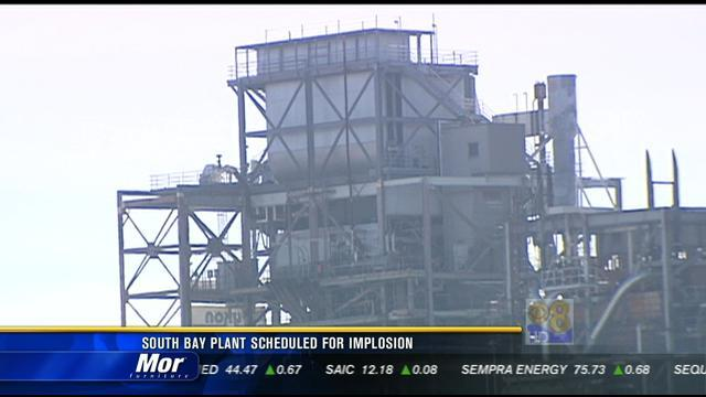 South Bay plant scheduled for implosion