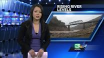 Folsom Lake level continues to rise