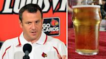 College coach buys everyone a beer