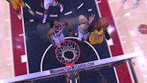 Gortat Blocks Hibbert