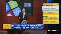 CNBC update: Takata recall more than doubles