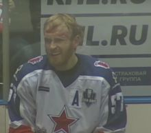 KHL player banned 8 games for Max Talbot hit, brutal head slash (Video)