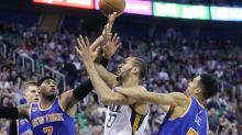 Rudy Gobert destroyed the Knicks with a career high and all the offensive rebounds