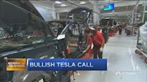 Bullish Tesla call