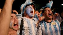 Argentina fans steal the show in Rio