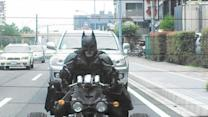 Real-life Batman spotted in Japan!