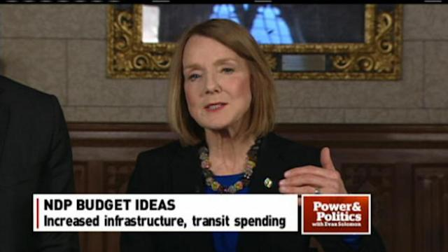 NDP's budget campaign