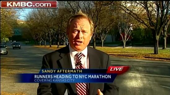 Sandy won't keep KC runner from NYC marathon