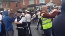Orange Order Parades Through Streets of Belfast
