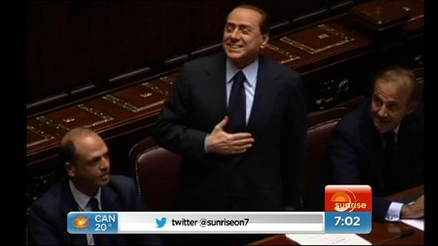 Berlusconi sentenced to four years jail