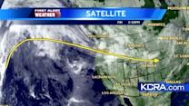 Friday Weather Update for Northern California 12.7