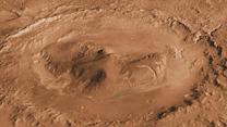 Raw Image: New image of Mars Gale Crater