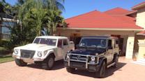 Driving the Lamborghini LM002 SUV, the original G-wagon