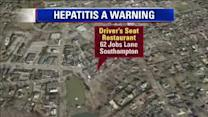 Hepatitis A diagnosis for restaurant worker on Long Island