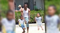 Usher's Ex Wife Seeks Custody After Pool Incident