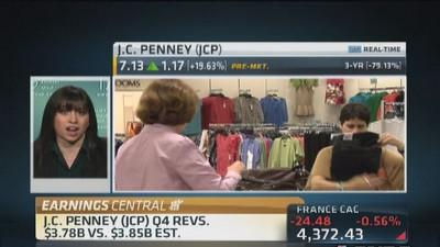 JCP's stock price depends on margins: Expert
