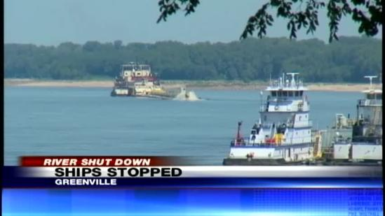 Cost going up to move products on low Mississippi River