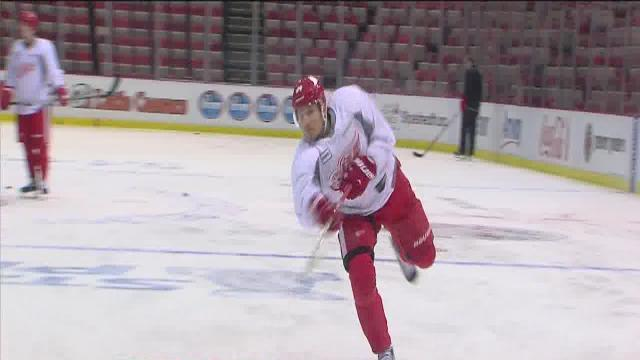 Red Wings rested and ready for Game 2 against Chicago