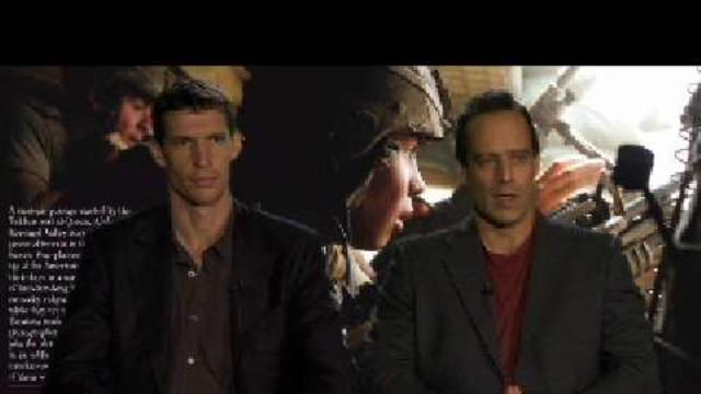 Politics - Sebastian Junger and Tim Hetherington discuss