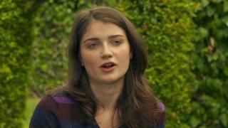 Enough Said: Eve Hewson On Working With Julia Louis-Dreyfus