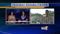 Portions of the H-1 Freeway to be shut down for restoration