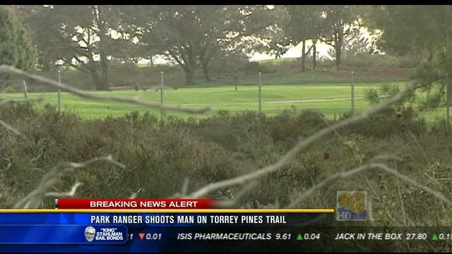Park ranger shoots man on Torrey Pines trail