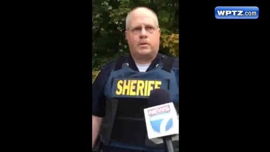 Raw Video: Police spokesman describes situation in Newport
