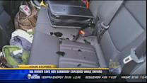 Kia owner says her sunroof exploded while driving