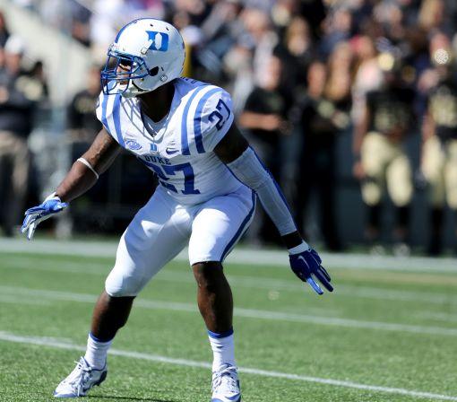 Duke senior DB DeVon Edwards suffers career-ending knee injury
