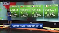 European stocks seesaw between gains and losses