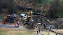 Body recovered from trench on NCSU campus