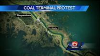 Residents fight to stop construction of coal export terminal