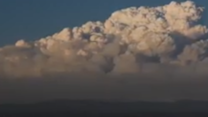 Time-Lapse of Smoke Billowing From El Dorado Wildfire