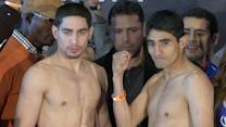 Weigh In: Garcia vs. Morales II