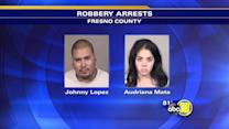 Suspects arrested in violent robbery spree in Fresno County