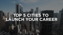 Five of the best cities to start your career