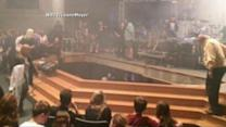 16 Students Hospitalized After Indiana Stage Collapses