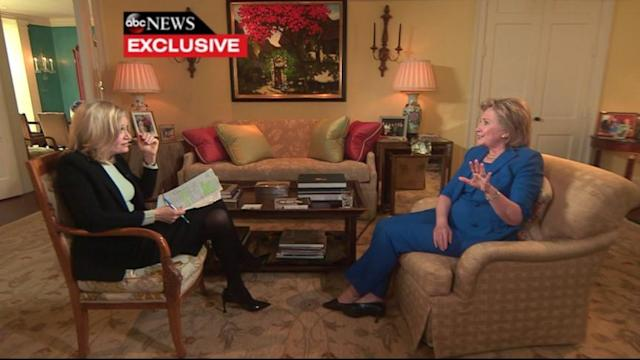 Hillary Clinton Defends High-Dollar Speaking Fees