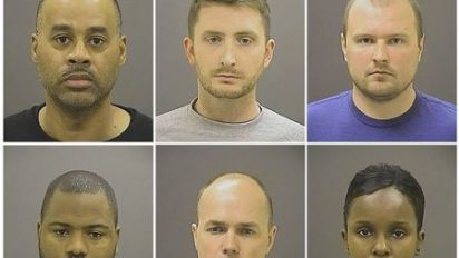 Baltimore prosecutor drops police charges in Freddie Gray case