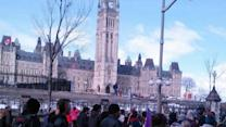 Cree walkers reach Ottawa