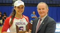 American's Juliana Crum earns Rockin' Refuel® Performance of the Week