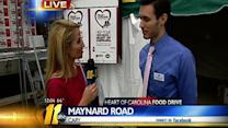 Heart of Carolina Food Drive Noon