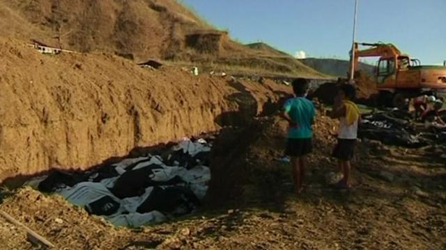 Unidentified bodies piling up in Tacloban